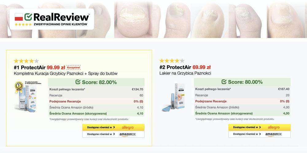 Najlepiej oceniana kuracja grzybicy paznokci w Polsce