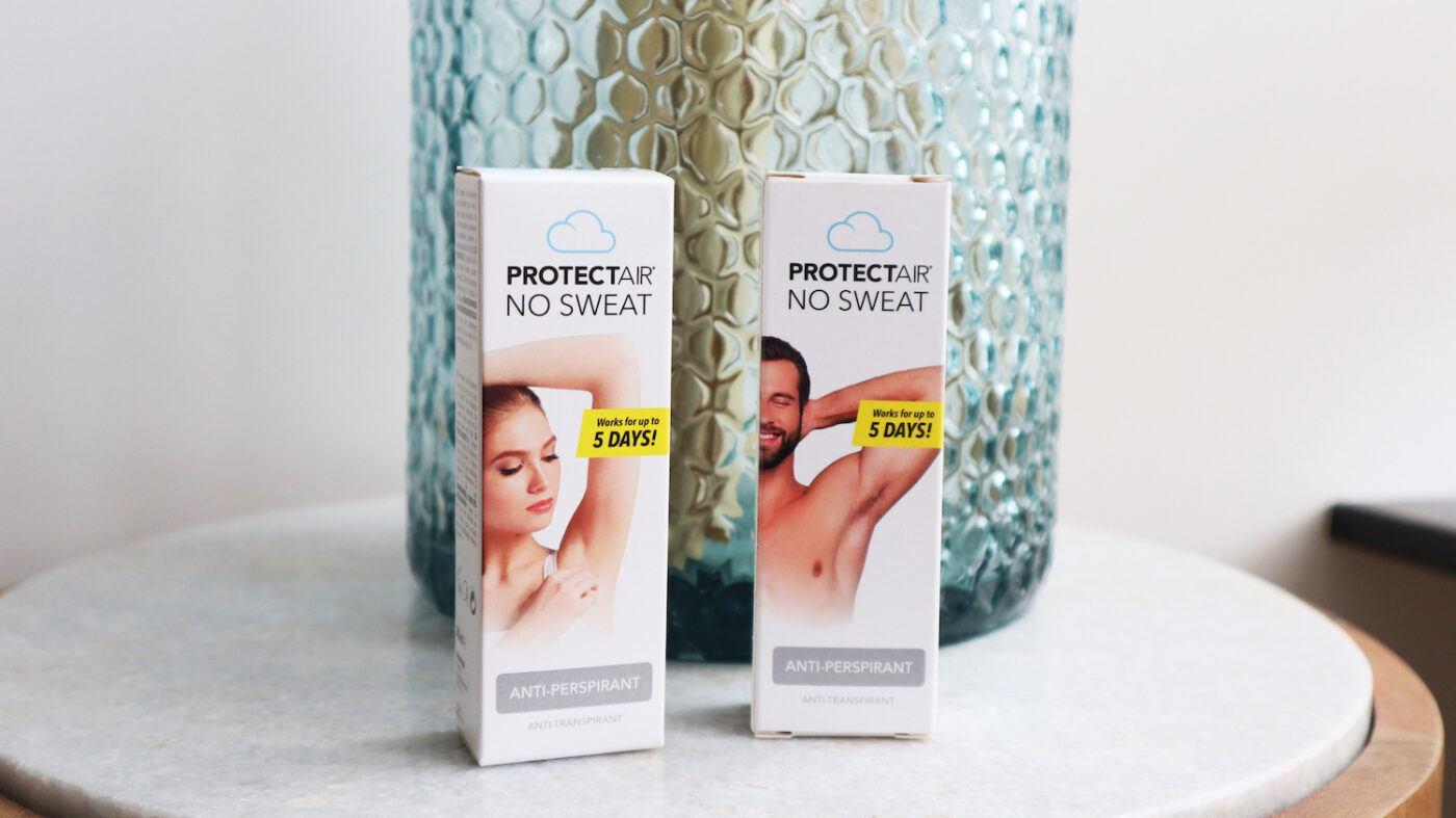 protectair tegen zweet