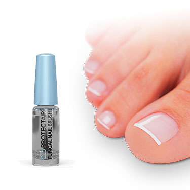 Step 2: treat the infected nail 2x per day with the nail solution