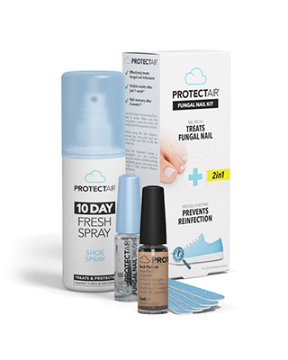 Fungal nail starter kit + medical shoe spray + breathable nail polish